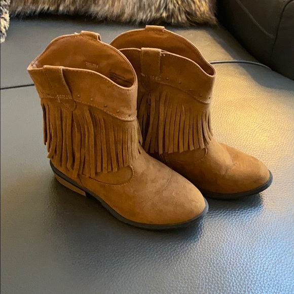 Jack Shoes   Girls Fringe Boots   Poshmark